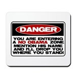 No Obama Zone Mousepad