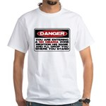 No Obama Zone White T-Shirt