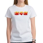 Mom in Flames Women's T-Shirt