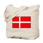Danish / Denmark Flag Tote Bag