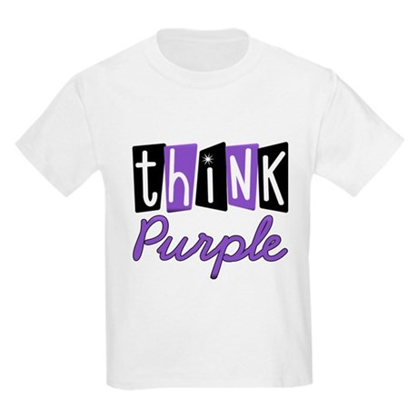 Think Purple Kids Light T-Shirt