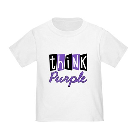 Think Purple Toddler T-Shirt