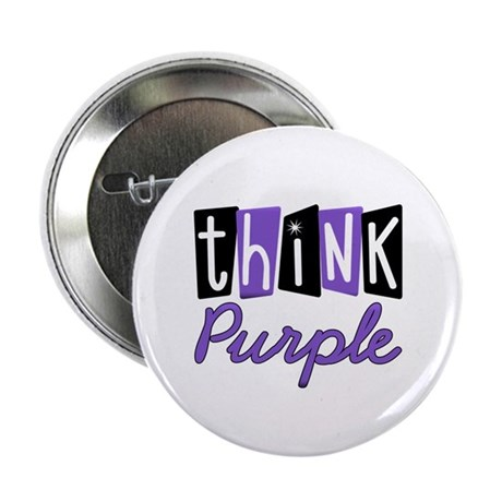 "Think Purple 2.25"" Button (10 pack)"
