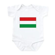 Hungarian Flag Infant Bodysuit