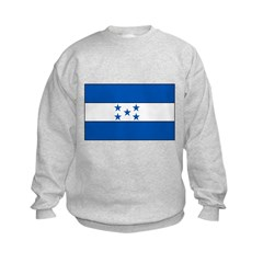 Honduras Flag Kids Sweatshirt