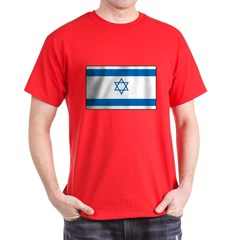 Israeli Flag Dark T-Shirt