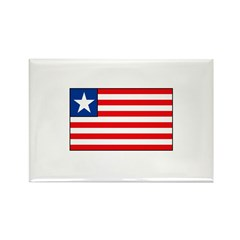 Liberian Flag Rectangle Magnet (10 pack)