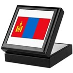 Mongolian Flag Keepsake Box