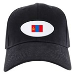 Mongolian Flag Black Cap