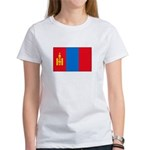 Mongolian Flag Women's T-Shirt