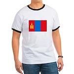 Mongolian Flag Ringer T