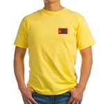 Mongolian Flag Yellow T-Shirt