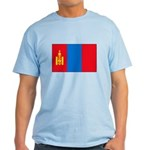 Mongolian Flag Light T-Shirt