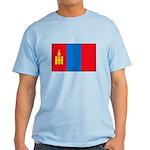 Mongolian Flag Light T-Shirt