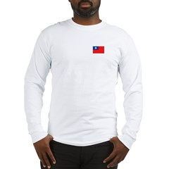 Taiwanese Flag Long Sleeve T-Shirt