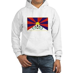 Tibetan Flag Hooded Sweatshirt