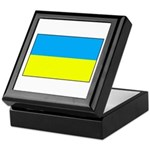 Ukranian Flag Keepsake Box