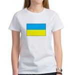 Ukranian Flag Women's T-Shirt