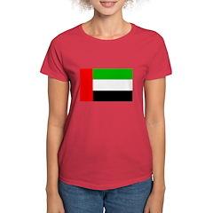 United Arab Emirates Flag Women's Dark T-Shirt