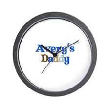 Avery's Daddy Wall Clock