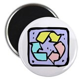 "RECYCLE 2.25"" Magnet (100 pack)"