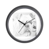 Funny British wildlife Wall Clock