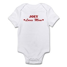 JOEY loves mom Infant Bodysuit