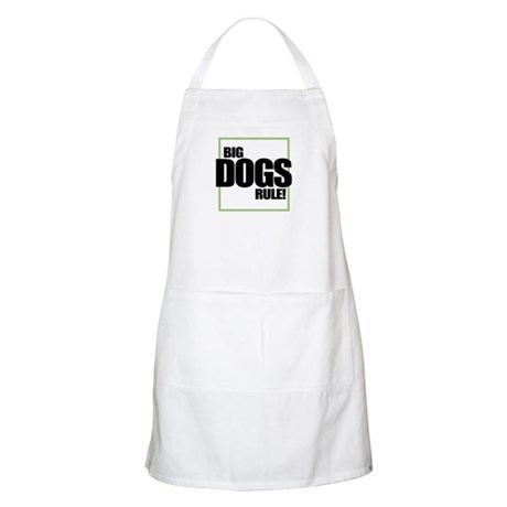 Big Dogs Rule logo BBQ Apron
