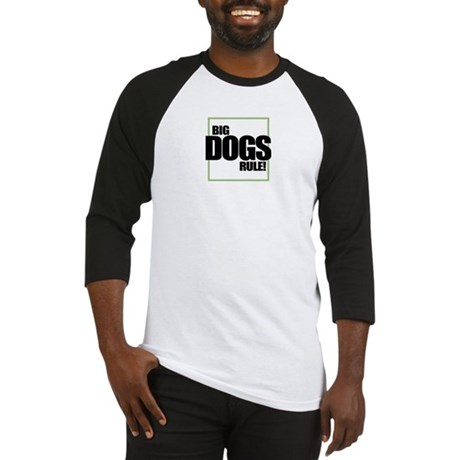 Big Dogs Rule logo Baseball Jersey
