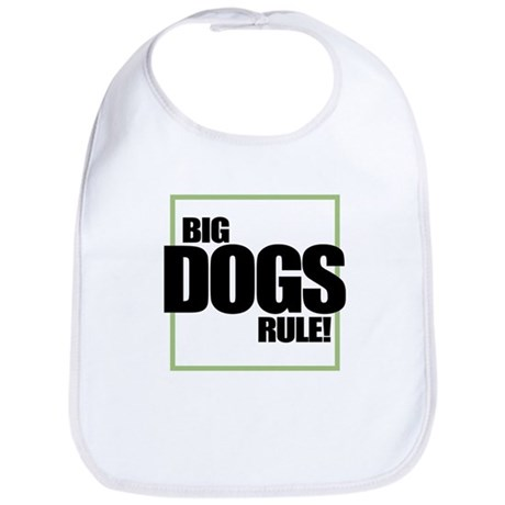 Big Dogs Rule logo Bib