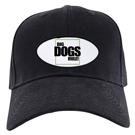 Big Dogs Rule logo Black Cap