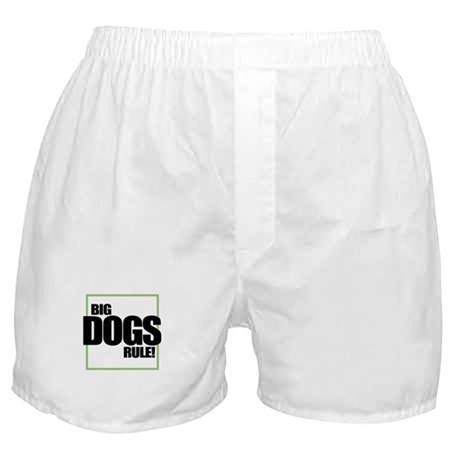 Big Dogs Rule logo Boxer Shorts