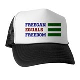 Freegan = Freedom Trucker Hat