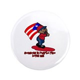 "Someone in Puerto rico loves me 3.5"" Button (100 p"