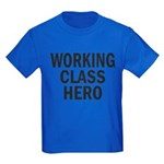 Working Class Hero Kids Dark T-Shirt