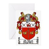 Sloan Coat of Arms Note Cards (Pk of 10)