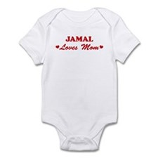 JAMAL loves mom Infant Bodysuit