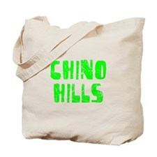 Chino Hills Faded (Green) Tote Bag