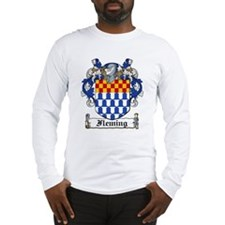 Fleming Family Crest Long Sleeve T-Shirt