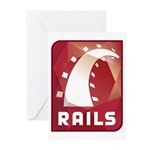 Ruby on Rails Greeting Cards (Pk of 10)