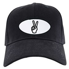 PEACE SIGN Baseball Hat