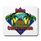 Funny Construction Mousepad