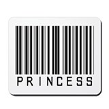 Princess Barcode Mousepad