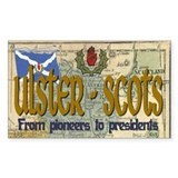 Ulster Scots (scotch-irish) Rectangle Decal