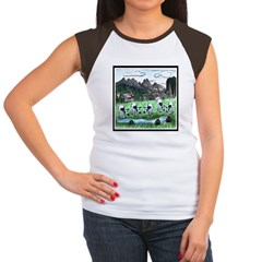 Country Swiss Women's Cap Sleeve T-Shirt