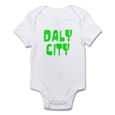 Daly City Faded (Green) Infant Bodysuit