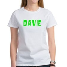 Davie Faded (Green) Tee