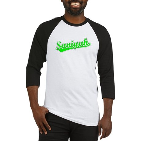 Retro Saniyah (Green) Baseball Jersey