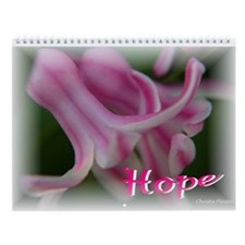 Hope Wall Calendar for Breast Cancer Awareness