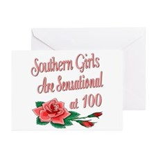 Sensational 100th Greeting Cards (Pk of 10)